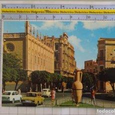 Postales: POSTAL DE MELILLA. AÑO 1969. CALLE PEDRO A. DE ALARCÓN. ÁNFORA. SEAT 600. 21 CARMAR. 989. Lote 289822588