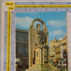 Postales: POSTAL DE MELILLA. AÑO 1979. MONUMENTO HÉROES DE ESPAÑA. 14 CARMAR. 1002. Lote 289823568