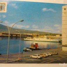 Postales: POSTAL MELILLA PUERTO DETALLE COCHES. Lote 292073263