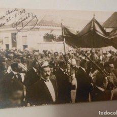 Postales: TARJETA POSTAL FOTOGRAFICA DE MELILLA CORPUS CHIRSTI MILITAR. Lote 293457188