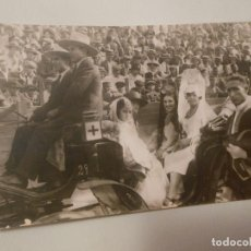 Postales: TARJETA POSTAL FOTOGRAFICA DE MELILLA PLAZA DE TOROS FOTO S. ZARCO MILITAR. Lote 293457803