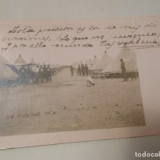 Postales: TARJETA POSTAL FOTOGRAFICA DE MELILLA MILITAR 1916 KANDUCH. Lote 293458083