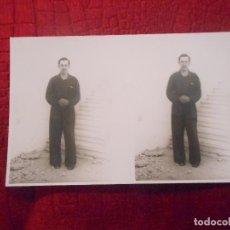 Postales: TARJETA POSTAL FOTOGRAFICA MELILLA MILITAR AVIADOR RAFAEL FERNANDEZ DE CASTRO 1937 GUERRA CIVIL. Lote 293488648