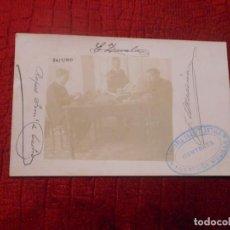 Postales: TARJETA POSTAL FOTOGRAFICA DE MELILLA RAFAEL FERNANDEZ DE CASTRO 1910 ZAVALA MEDINA TRASATLANTICA. Lote 293489783