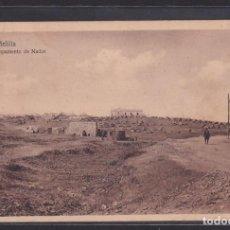 Postales: MELILLA VISTA DEL CAMPAMENTO DE NADOR (ESPAÑA). Lote 297088383
