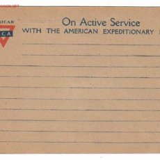 Postales: POSTAL EJERCITO AMERICANO EN FRANCIA. 14 X 9 CM. YMCA. Lote 4232963