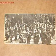 Postales: POSTAL DESFILE DE SOLDADOS DE LA CRUZ ROJA BARCELONA. Lote 2826536