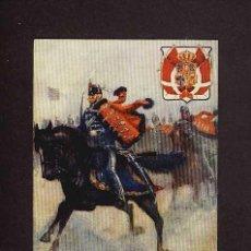 Postales: POSTAL DE TEMA MILITAR: DANISH HUSSARDS OF THE GUARD (ED.TUCK'S). Lote 3328749