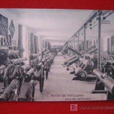 Postales: MUSEO DE ARTILLERÍA, SALA DE ARTILLERIA. Lote 2443629