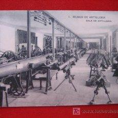Postales: MUSEO DE ARTILLERÍA, SALA DE ARTILLERIA. Lote 2443632