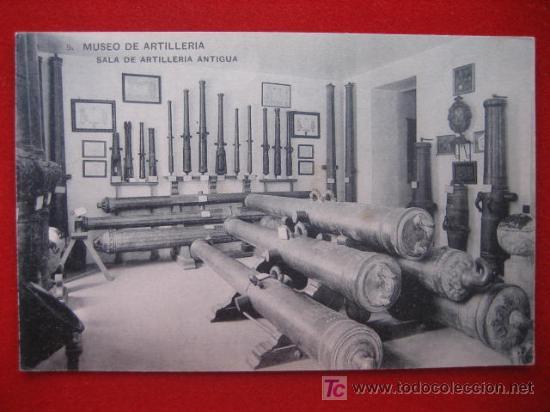 MUSEO DE ARTILLERÍA, SALA DE ARTILLERIA (Postales - Postales Temáticas - Militares)