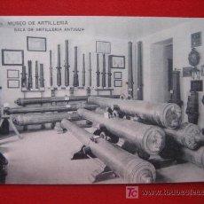 Postales: MUSEO DE ARTILLERÍA, SALA DE ARTILLERIA. Lote 2443633