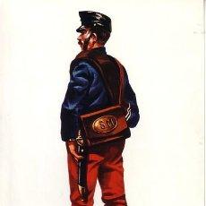 Postales: 5-SANITARIO EN TRAJE CAMPAÑA, ESPAÑA 1880. Lote 4202026