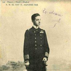 Postales: POSTAL DE S.M. EL REY D. ALFONSO XIII, HAUSER Y MENET Nº 749, . Lote 4748733