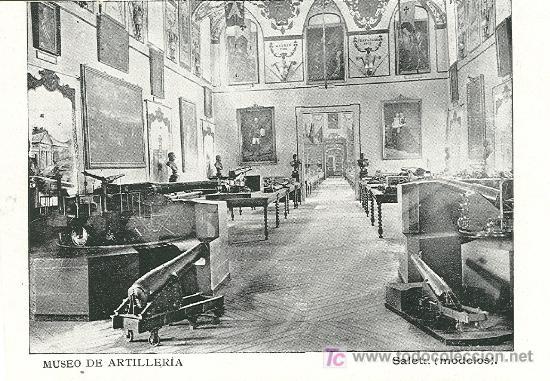 MUSEO DE ARTILLERÍA. MADRID. HACIA 1.910. (Postales - Postales Temáticas - Militares)