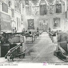 Postales: MUSEO DE ARTILLERÍA. MADRID. HACIA 1.910.. Lote 5396084