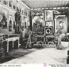 Postales: MUSEO DE ARTILLERÍA. MADRID. HACIA 1.910.. Lote 6104746