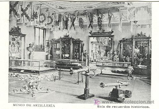 MADRID. MUSEO DE ARTILLERÍA. HACIA 1.910. (Postales - Postales Temáticas - Militares)