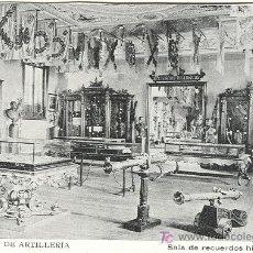 Postales: MADRID. MUSEO DE ARTILLERÍA. HACIA 1.910.. Lote 5396119