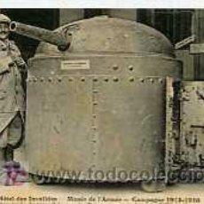 Postales: POSTAL MILITAR MUSEO DE LAS ARMAS DE FRANCIA. Lote 5838746