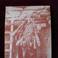 Postales: CURIOSA POSTAL DE CHARLES CHAPLIN. Lote 24726554