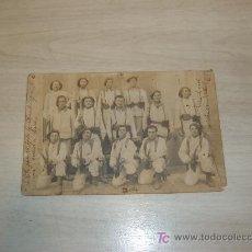 Postales: POSTAL FOTOGRFICA GRUPO DE SOLDADOS DE LA 143 COMPAÑIA. Lote 8956285