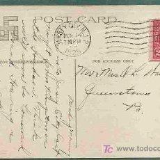 Postales: CRUZ SVASTICA EN TARJETA POSTAL DE 1926 USADA POR LAS HIJAS DE LA REVOLUCION DE AMERICA-KINGSTON, NY. Lote 20983171