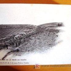 Postales: POSTAL MILITAR ANTIGUA. AÑO 1907. BAJADA DE LA MESA DE OCAÑA.. Lote 25671560