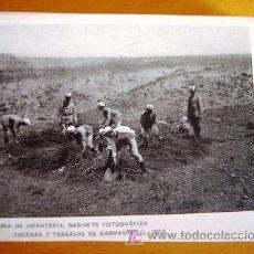 Postales: POSTAL MILITAR ANTIGUA. AÑO 1908. ESCENAS Y TRABAJOS 11.. Lote 25757686