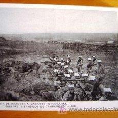 Postales: POSTAL MILITAR ANTIGUA. AÑO 1908. ESCENAS Y TRABAJOS 15.. Lote 25757689