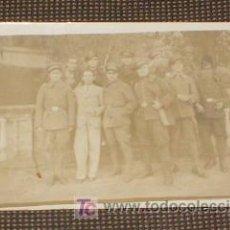 Postales: ANTIGUA POSTAL DE GRUPO DE MILITARES DE LA REPUBLICA. TARJETAS FOTOMINUTO, CARCELLER.. Lote 19090143