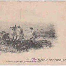 Postales: POSTAL MILITAR, ACADEMIA DE INFANTERIA, TOLEDO, AÑO 1912 Nº13, FIESTA DEL ARBOL. Lote 7836598