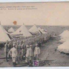 Postales: POSTAL MILITAR, ACADEMIA DE INFANTERIA,CURSO 1912-13,TOLEDO, Nº37, REVISTA DE POLICIA EN CAMPAMENTO. Lote 7836709
