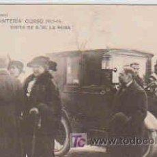 Postales: POSTAL MILITAR, ACADEMIA DE INFANTERIA DE TOLEDO CURSO 1913-14, VISITA DE S. M. LA REINA. Lote 7862926