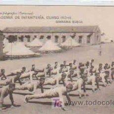 Postales: POSTAL MILITAR, ACADEMIA DE INFANTERIA DE TOLEDO CURSO 1913-14, GIMNASIA SUECA. Lote 7863090