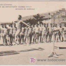 Postales: POSTAL MILITAR, ACADEMIA DE INFANTERIA DE TOLEDO CURSO 1913-14, SECCION DE GIMNASIA. Lote 7863102