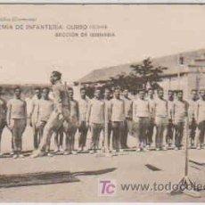 Postales: POSTAL MILITAR, ACADEMIA DE INFANTERIA DE TOLEDO CURSO 1913-14, SECCION DE GIMNASIA. Lote 7863164