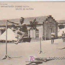 Postales: POSTAL MILITAR, ACADEMIA DE INFANTERIA DE TOLEDO CURSO 1913-14, SALTO DE ALTURA. Lote 7863193