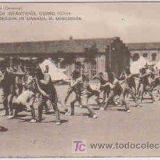 Postales: POSTAL MILITAR, ACADEMIA DE INFANTERIA DE TOLEDO CURSO 1913-14, GIMNASIA, EL MO0SCARDON. Lote 7863207