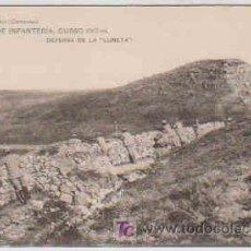 Postales: POSTAL MILITAR, ACADEMIA DE INFANTERIA DE TOLEDO CURSO 1913-14, DEFENSA DE LA LUNETA. Lote 7863261