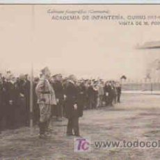 Postales: POSTAL MILITAR, ACADEMIA DE INFANTERIA DE TOLEDO CURSO 1913-14, VISITA DE M. POINCARE. Lote 7863398