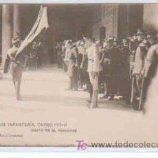 Postales: POSTAL MILITAR, ACADEMIA DE INFANTERIA DE TOLEDO CURSO 1913-14, VISITA DE M. POINCARE. Lote 7863465