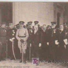Postales: POSTAL MILITAR, ACADEMIA DE INFANTERIA DE TOLEDO CURSO 1913-14, VISITA DE M. POINCARE. Lote 7863478