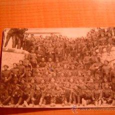 Postales: TARJETA POSTAL UNION POSTALE UNIVERSALLE SOLDADOS ESCRITA AÑO 1928. Lote 22680967