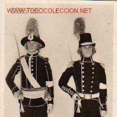 Postales: POSTAL DE UNIFORMES. Lote 4508733