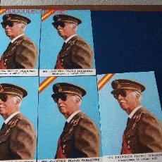 Postales: LOTE DE CINCO POSTALES DE FRANCO. Lote 27611459