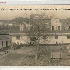 Postales: (JC-41) POSTAL CUARTEL DE LA GUARDIA CIVIL DE CABALLERIA DE LA TRAVESERA.. Lote 1867107