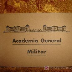 Postales: POSTALES ACADEMIA GENERAL MILITAR.. Lote 3033340