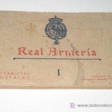 Postales: ALBUM 20 POSTALES -REAL ARMERIA I -HAUSER Y MENET, MADRID - 150 X 85 MM. Lote 27230809