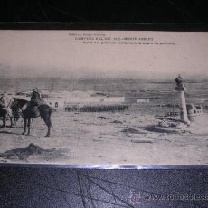 Postales: CAMPAÑA DEL RIF 1921 - MONTE ARRUIT - VISTA DEL POBLADO DESDE LA ENTRADA A LA POSICION. Lote 10438651